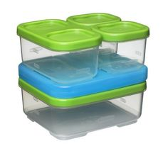 .. bpa free, freezer, microwave, dishwasher safe. Lunch Blox - Sandwich Kit by Rubbermaid