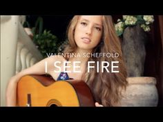 """I See Fire"" Ed Sheeran The Hobbit: The Desolation of Smaug (Cover By Valentina Scheffold) - YouTube"