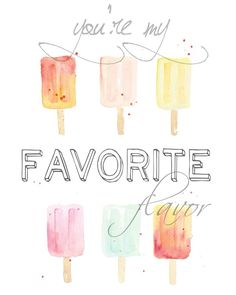 Cute popsicles! You'