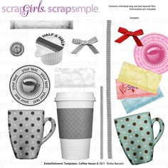Digital Scrapbooking Supplies