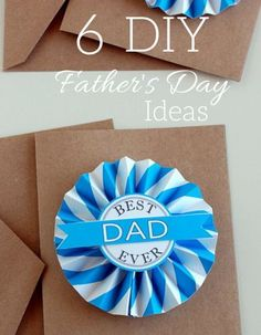 6 DIY Fathers Day I