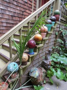 Potted Bowling Balls
