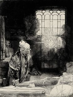 """Rembrandt, """"Faust"""""""