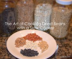 Cooking Dried Beans using the slow cooker... NO MORE CANNED BEANS... I cook a large batch and freeze.... save money and don't have to eat out of cans