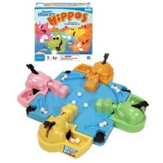 """Hungry hippos-a fun way to talk about the concept of """"more"""" and """"less""""."""