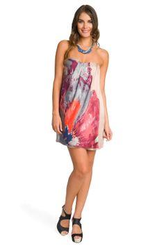 Cute floral dress for bachelorette party