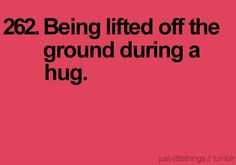 <3 when my guy friends hug me this way =)