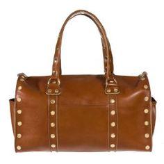 Robertson II Signature Cognac with Gold Hardware by Hammitt Los Angeles :: Handbag Tailor