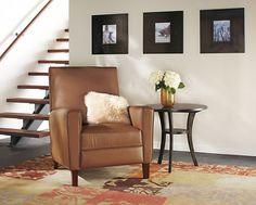 Harper Tall Back Leather Recliner - Recliners & Lounge Chairs - Living - Room & Board