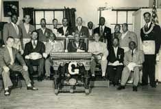 Grandmaster McCurdy with fellow Prince Hall Masons