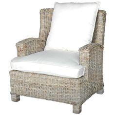 Oasis Rattan & Teak Club Chair at Joss & Main