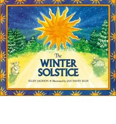 Wonderful kids book explaining ancient myths and traditions associated with the winter solstice, as well as the science of seasons. My only beef is it is completely northern hemisphere centric, which is a small issue admittedly.