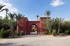 Gated Entrance - Moroccan estate