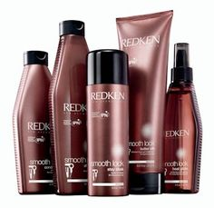 Redken Smooth Lock Sulfate free shampoo and conditioner -product buildup makes my hair appear darker than what it really is. This cleans so well that on the day after I wash my hair, everyone wants to know if I've dyed my hair again!