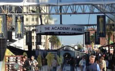 The Oscar® red carpet is being set up for the big night!