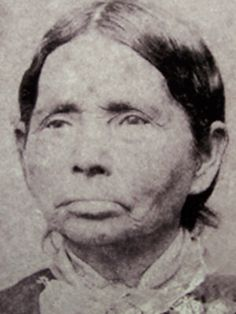 Annie Fields Ballard pictured here in the 1860s, was a survivor of the Trail of Tears
