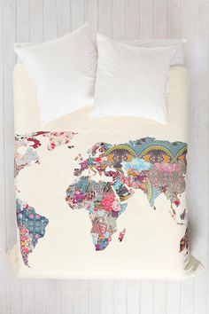 world patterned sheets. I want these so bad