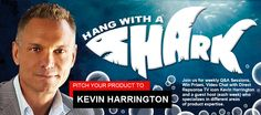 Pitch Your Product Idea to Kevin Harrington Himself, Chairman of As Seen on TV, Inc. & Former Investor Shark on ABC's Hit Show Shark Tank! | Tuesday, June 4, 2013 @ 3PM | Only 50 Slots Available - Sign Up Today! -> http://hangwithashark.eventbrite.com