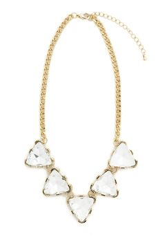 stone spike necklace