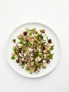 Persian Lentil Rice Salad