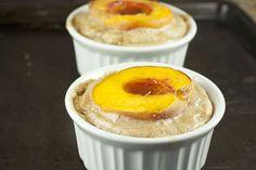 Breakfast Baked Peaches