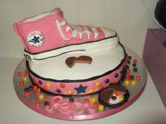 Converse Birthday cake, made by me :D