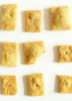Vegan Cheez Its | Minimalist Baker Recipes