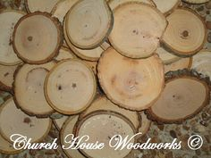 50 qty 2 - 2.5 rustic wood slices, crafts, candles, decoration, blanks, rustic weddings, wood slices