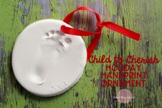 @Child to Cherish #HolidayHandprint Ornament at Sweet Rose Studio