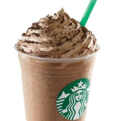 The new mocha cookie crumble frappuccino! Omg!