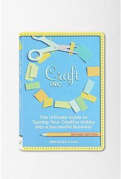 Craft, Inc. By Meg Mateo Ilasco $16.95