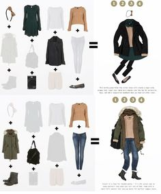 Capsule wardrobe 1 (via topshop.com)