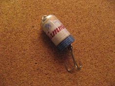 Hamm's Beer Fishing Lure Nice | eBay.   Sold for $3.99  plus $4.95 for S&H