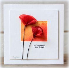 stamp sets, från ett, birgit card, sympathy cards, ett skrivbord, tissue paper flowers, rapport från, paper towel, crepe paper