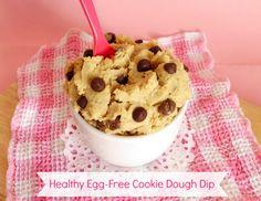 Healthy Egg-Free Cookie Dough Dip