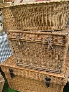 Flea Market Finds  laundry baskets? kitchen organizer?
