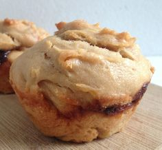 Eat, Run, Read: Cake of the Week: Peanut Butter and Jam Muffins