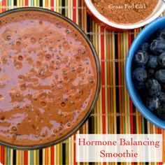 Benefits of Maca and Hormone Balancing Smoothie -