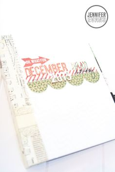 December Daily Cover Album by Jennifer Evans #HeidiSwapp #HSBelieve #ColorMagic