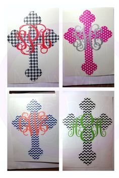 cross decal, decals for cars