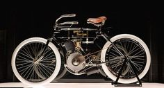 Oldest Motorcycle from the Harley Davidson Museum!