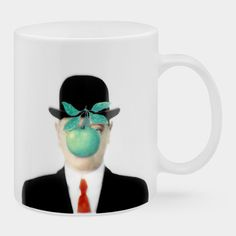 Magritte: The Son of Man Mug | MoMAstore.org
