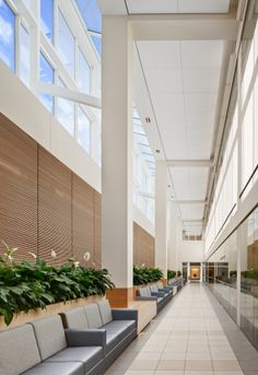 Perkins Eastman | St. Vincents Medical Center | Healthcare, Public, Lobby
