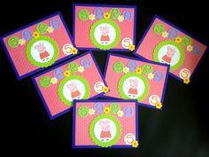 Invitación Cumpleaño Infantil de Peppa Pig http://www.facebook.com/crpentinas