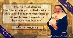 "Help #EWTN celebrate Mother Angelica's 91st #birthday with 391k ""likes!"""