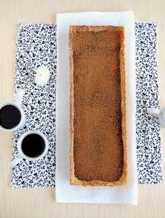 // Chocolate orange ganache tart