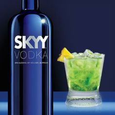PALM TREE 1 ½ oz. SKYY Infusions Coconut ¾ oz. Midori ½. oz. Lime Juice 4 oz. Ginger Ale  Combine in a glass over ice.