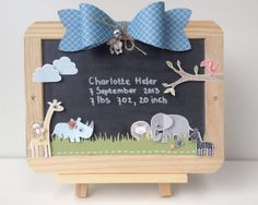 Margriet Creatief, Create a Cupcake, Chalk Marker, Stampin' Up!, Take Care, Zoo Babies, Itty Bitty Shape punch, Gift Bow Bigz die