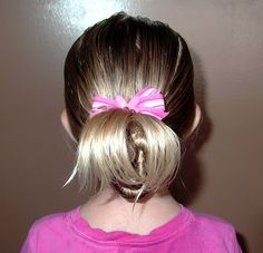 Shaunell's Hair: Little Girl's Hairstyles -Quick back twist 1-3 min