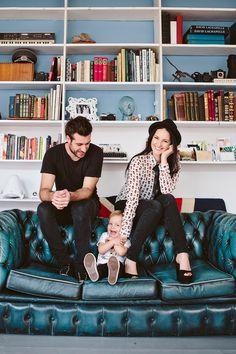 10 Stylish Family Photos; Get Inspired! Gorgeous family portrait by Matt Bowen (mattbowenphotography.co.uk)